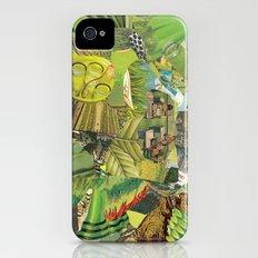Green Slim Case iPhone (4, 4s)