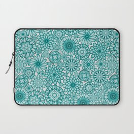 Ceramic Flowers (Atoll) Laptop Sleeve