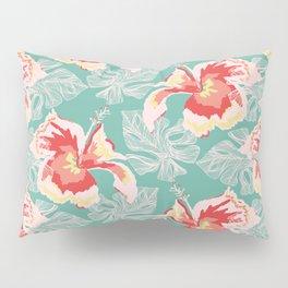 Hawaiian Flowers Pillow Sham
