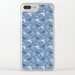 Bees and hand bells Clear iPhone Case
