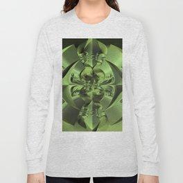 Cool Green of Summer Long Sleeve T-shirt