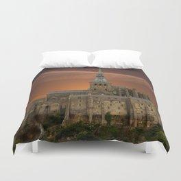 Mont-Saint-Michel Duvet Cover
