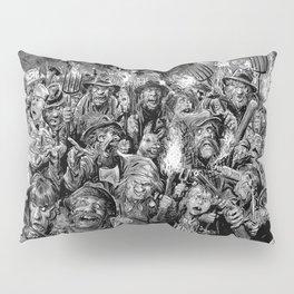 Frankenstein Villagers Pillow Sham