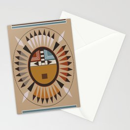 American Native Pattern No. 98 Stationery Cards