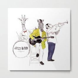 Bestial jazz-band Metal Print