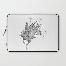 Hare Dandelion Laptop Sleeve