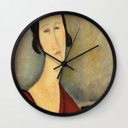 "Amedeo Modigliani ""Madame Hanka Zborowska"" Wall Clock"