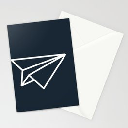 Paper Airplane Stationery Cards