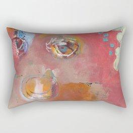 Too Pink For Comfort Rectangular Pillow
