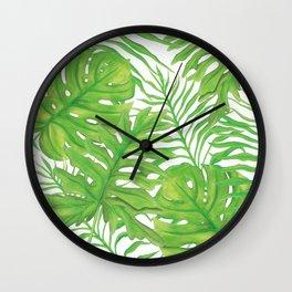 Living Art Collection by Artist Jane Harris Wall Clock