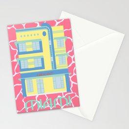Miami Landmarks - Crescent Stationery Cards