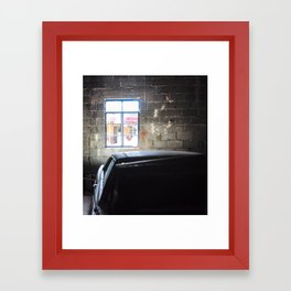 In the Garage Framed Art Print