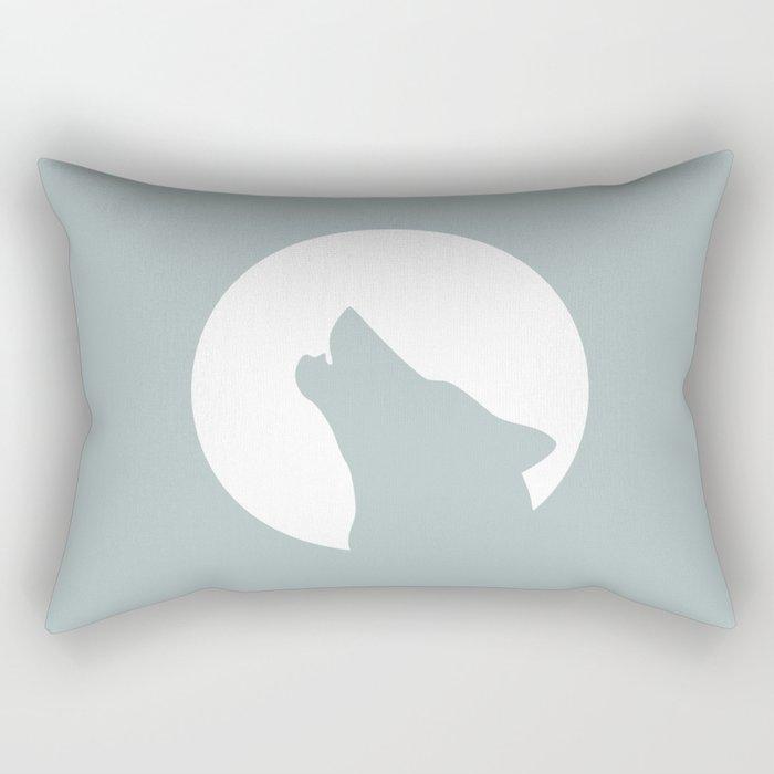 #wolf Rectangular Pillow