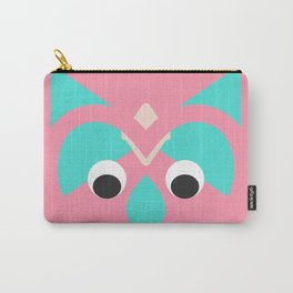 abstract owl Carry-All Pouch