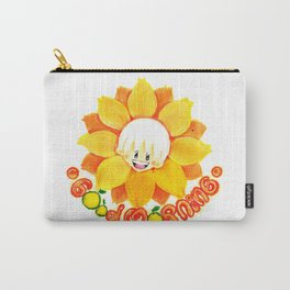 good morning sunflower boy Carry-All Pouch