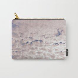 Pink Cotton Candy Clouds Carry-All Pouch