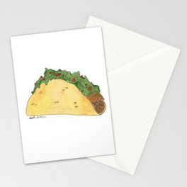 T is for Taco Stationery Cards