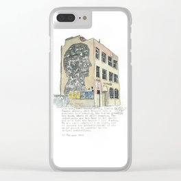 1 Jessie Street. Clear iPhone Case