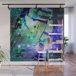 SHANHAIJING-BreadBear-HAI (Space Oddity II) Wall Mural