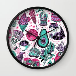 Basic Witch II Wall Clock