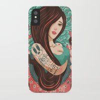 party iPhone & iPod Cases featuring Party by Victor Beuren