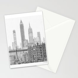 Lower East Side, 1930's Stationery Cards