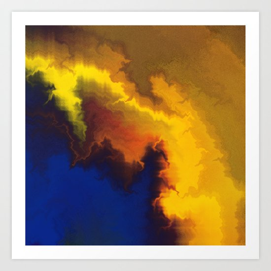 Mystical Movement Art Print
