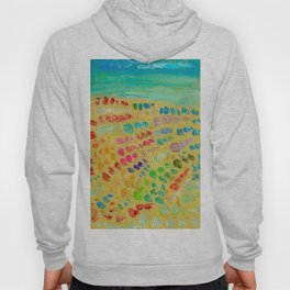 March of the colorful seashells to the beach Hoody