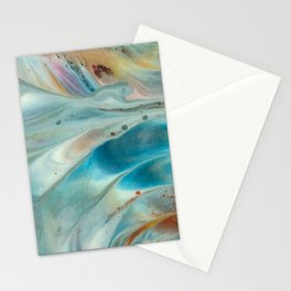 Pearl abstraction Stationery Cards
