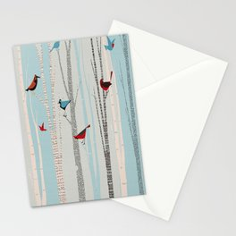 Winter Birds / 03 Stationery Cards