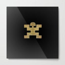 Pectoral Pre-Columbian Gold Piece Metal Print
