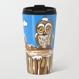 Snowflake the Owl Travel Mug