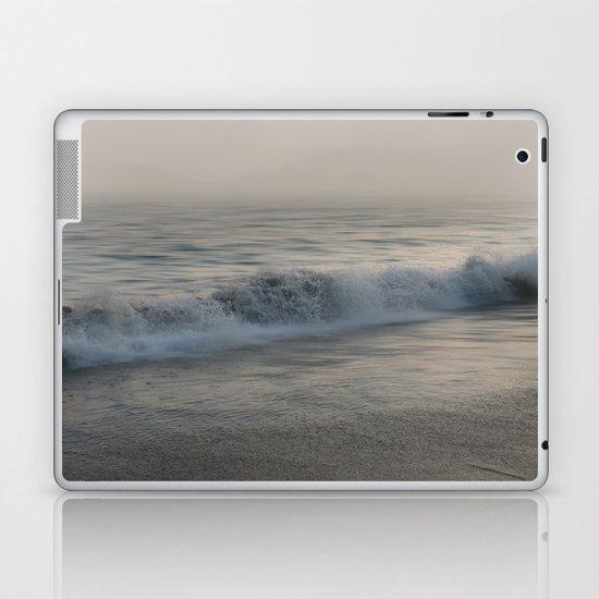 Misty Morning At Sea Laptop & iPad Skin