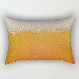 Beer Bubbles Rectangular Pillow