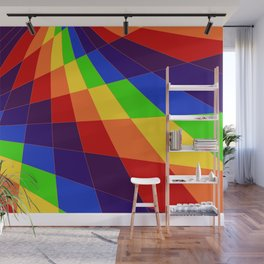 "ROY G Biv - ""Another Look"" Wall Mural"