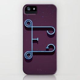 Alphabet Drop Caps Series- E iPhone Case