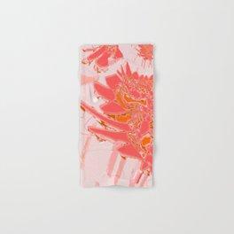 Peach Smooth Abstract Design at GreenBeeMee Hand & Bath Towel