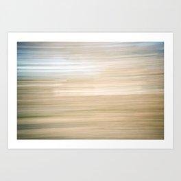 Sweeping Lines Art Print