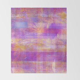 Marbled Patchwork Throw Blanket
