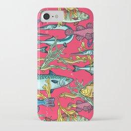 Magical underwater world. iPhone Case