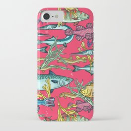Magical underwater world. iPhone Case