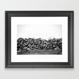 stonewalls Framed Art Print