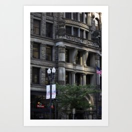 Masonic Temple Art Print