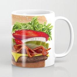 Bacon Cheeseburger by dana alfonso Coffee Mug