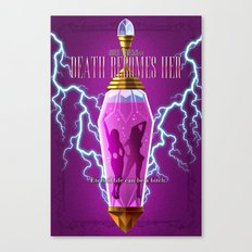 Death Becomes Her (Alternative Movie Poster) Canvas Print