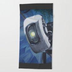Robot #2 (2012) Beach Towel