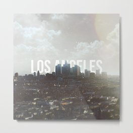 L.A. Home Metal Print