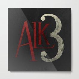 Alkaline Trio Metal Print