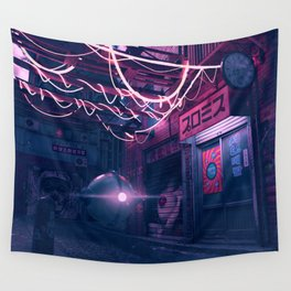 Patrol Bot Wall Tapestry