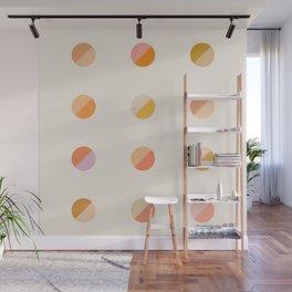 Abstraction_DOT_DOT_Colorful_Minimalism_001 Wall Mural